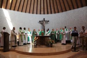 Messe à la paroisse francophone