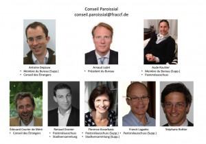 Conseil Paroissial 2015-2019