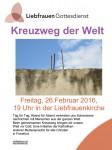 Chemin de croix 2016 Liebfrauen