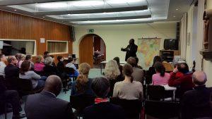 MGR DIEUDONNE NZAPALAINGA, archevêque de Bangui et président de la conférence espiscopale de centrafrique
