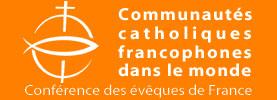 Logo Communautés catholiques francophones dans le monde